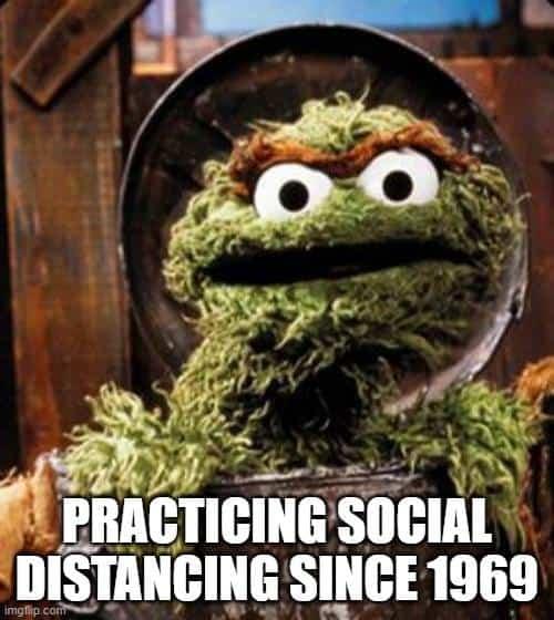 oscar the grouch meme