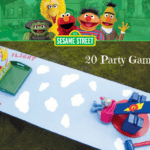 sesame street party games